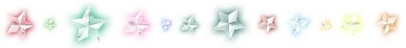 Dividers - Set 13 Stars